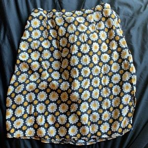 Flower print brandy Melville skirt